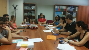 Jaén Student advisors discuss their Delphi responses