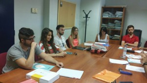 Jaén Student advisors meet for the first time