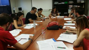 Jaén student advisors fill in the Delphi Questionnaire