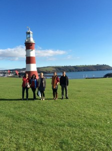 The Team at Plymouth Hoe 2014